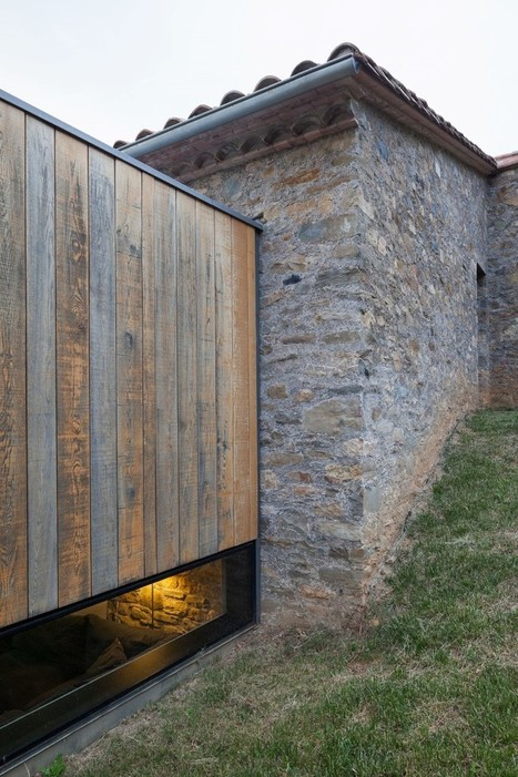 Rebuilding and Extension of the Farmhouse Can Calau | Designed for Form and Function ....Chairs and Other Objects | Scoop.it