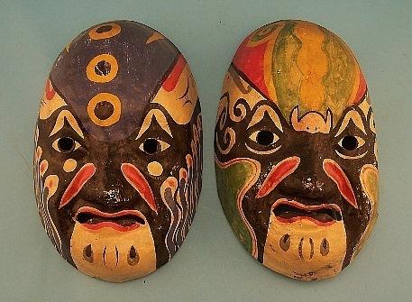 Antiques Chinese Mask | Una mirada occidental-Teatro Chino | Scoop.it
