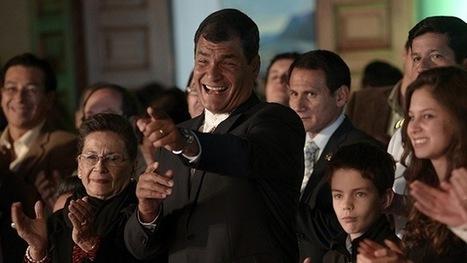 Correa gana la primera vuelta de las presidenciales en Ecuador | Global politics | Scoop.it