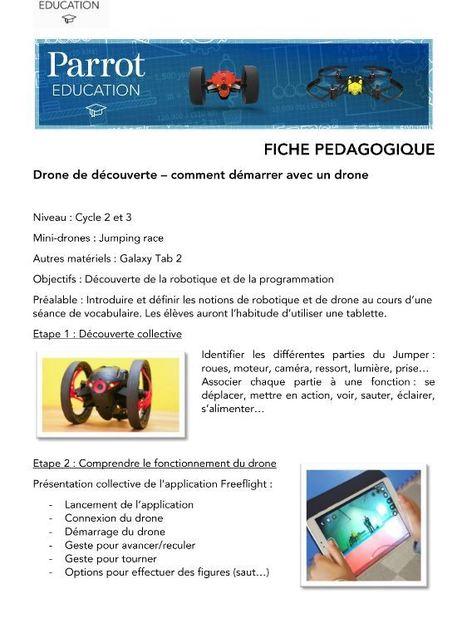 Bien débuter avec des drones [Parrot Education] | Bib-bib-bib Youpi | Scoop.it