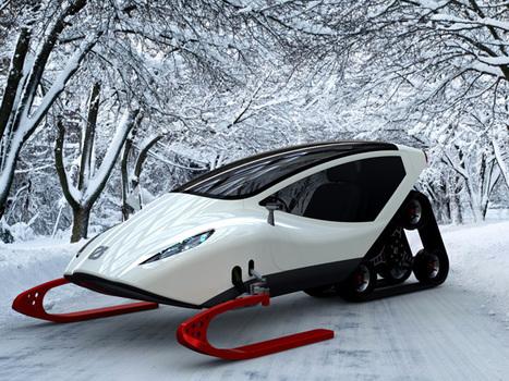Snowmobile Concept by Michal Bonikowski | technology | Scoop.it