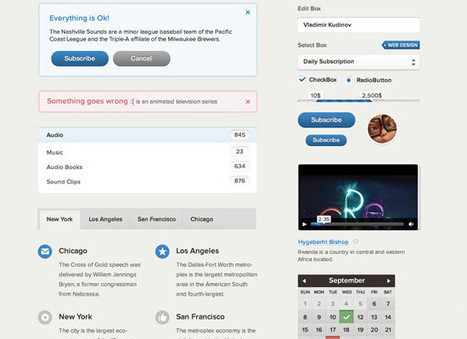 Top 10 Free CSS UI Toolkits For Web Designer » W3 Experts | wordpress | Scoop.it