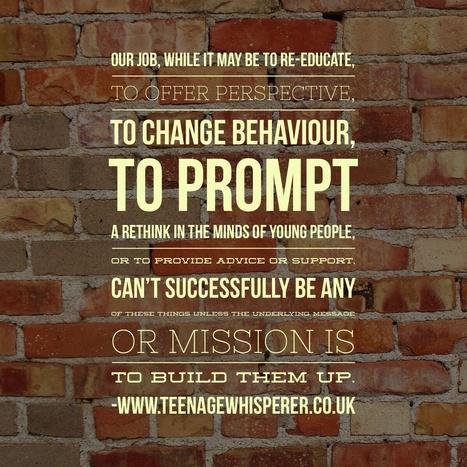 You keep me believing: on self-worth and belief | Teenage Whisperer Weekly | Scoop.it