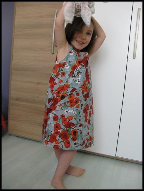 Une robe … avec des plis : TROP CAP ! | Couture, crochet et autres plaisirs | Scoop.it