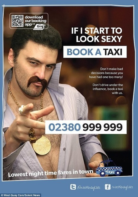 if I start to look sexy call a cab - Sexo no Marketing | Sex Marketing | Scoop.it