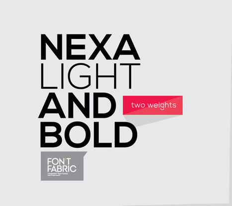 40+ Useful Fresh Free Fonts For Your Design | photoshop ressources | Scoop.it