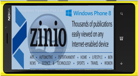 Zinio Magazine Application Coming to Windows Phone 8 as a Lumia Exclusive | All Mobile App Development Mart | Scoop.it