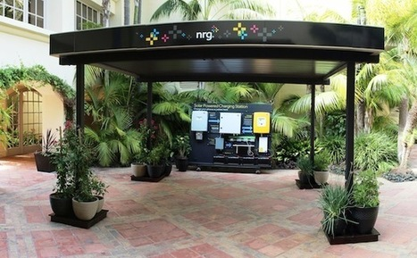 NRG previews new Solar Canopy - Fortune Tech | Science Wow Factor | Scoop.it