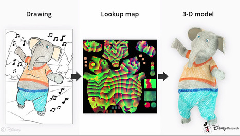 Disney's 3D coloring books will let you color way outside the lines | Future Trends and Advances In Education and Technology | Scoop.it