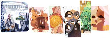 Antoni Gaudí 161st Birthday Google Doodle | RtoZ.org - Latest News | doodles 2013 | Scoop.it