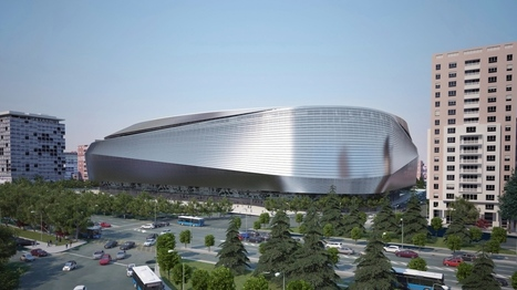 Un toit rétractable pour le stade du Real Madrid | Immobilier | Scoop.it