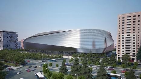 Un toit rétractable pour le stade du Real Madrid | Immobilier | Scoop.it