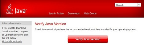 Verify Java Version | ICT Security Tools | Scoop.it