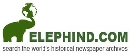 Elephind.com: Search the world's historic newspaper archives | Newspaper Digitization | Scoop.it
