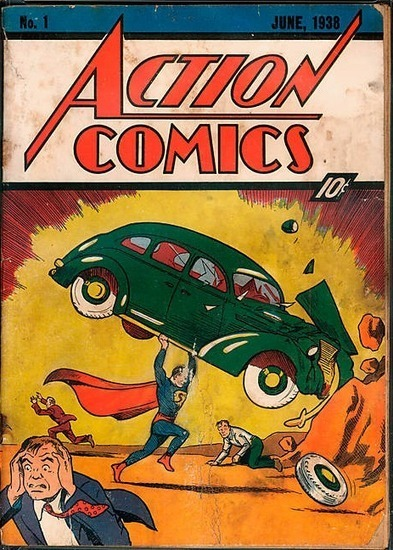 Update: Comic Book Found In Wall Sells For $175,000 At Auction | Troy West's Radio Show Prep | Scoop.it