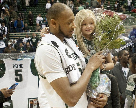 Adreian and Lacey – The Special Bond between a Bigtime College Athlete and the Little Girl Battling for her Life | Sports Doc | Scoop.it