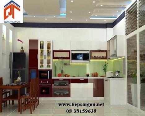 bepsaigon.net - Tủ bếp nhà Anh Quý - tu bep nha anh quy | Tủ bếp Acrylic - MFC | Scoop.it