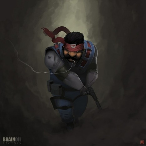 Mehdi Annassi aka Bad Blood – Mario Gear Solid | All Geeks | Scoop.it