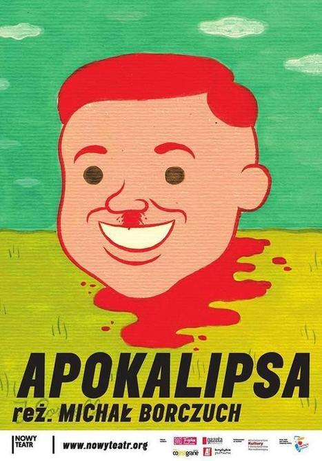 """Joan Cornellà on Twitter: """"Illustration for the poster of 'Apokalipsa', a theatre performance at Nowy teatr, Warsaw. http://t.co/LgkLRJ90sJ"""" 