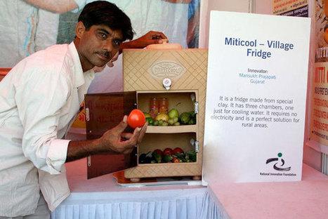 Artesão indiano cria geladeira que não precisa de eletricidade para funcionar - Pensamento Verde | vida&sustentabilidade | Scoop.it