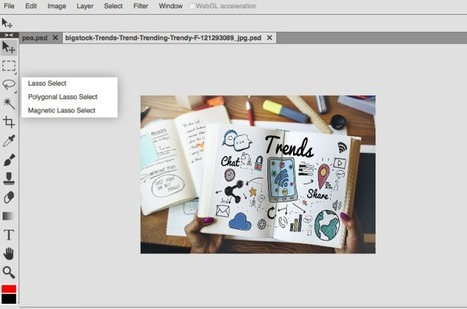 Photopea, um editor de fotos on-line que simula o PS | Tablets na educação | Scoop.it