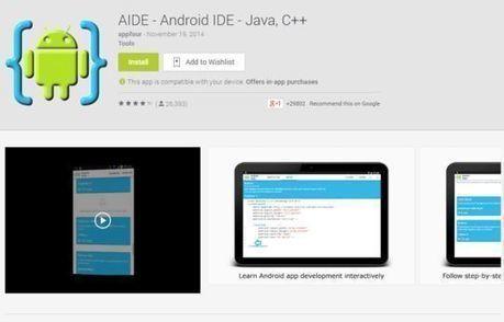 10 Free Code Editors For Android | Veille, outils et ressources numériques | Scoop.it
