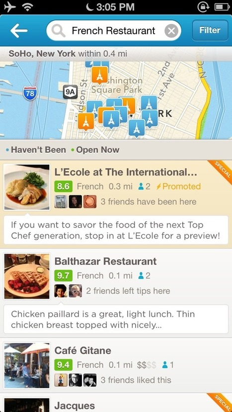 Expanding Foursquare Ads to more small businesses around the ... | Ads | Scoop.it