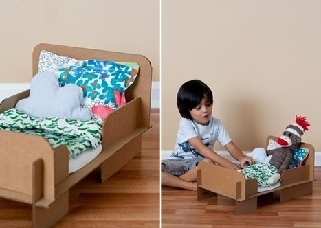 DIY Cardboard Bed | Kids Craft | Scoop.it