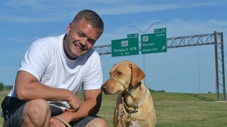 Service Dog Helps Army Vet Overcome PTSD | Pet-Related News | Scoop.it
