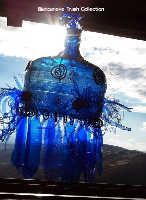 Biancaneve collection: Idea 3- La seconda vita di un boccione in plastica dell'acqua. The second life of a large water bottle plastic pet | biancanevecollection | Scoop.it