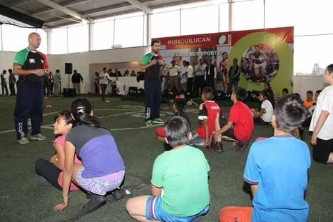 Inicia en Huixquilucan programa para promover la práctica del rugby | Fomentación del Rugby en Mexico | Scoop.it