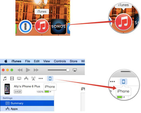 How to restore your iPhone or iPad with iTunes | iMore | How to Use an iPhone Well | Scoop.it