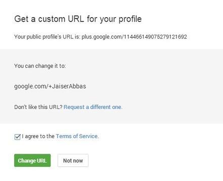 How to Get a Custom Google Plus Profile Vanity URL? | EmBlogger.com | EmBlogger.com | Scoop.it