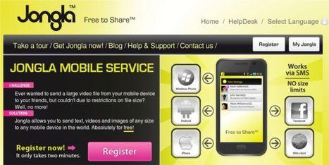 Jongla | Envía gratis vídeos, fotos y texto sin restricciones de tamaño desde tu smartphone. | MLKtoSCL | Scoop.it
