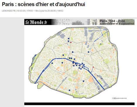 « Paris : scènes d'hier et d'aujourd'hui » | GenealoNet | Scoop.it