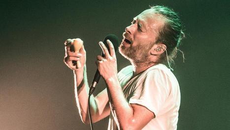 Le chanteur de Radiohead se rebiffe contre Spotify | Veille - développement radio | Scoop.it