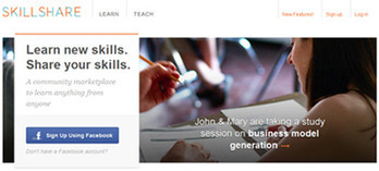 Skillshare Turns The World Into One Big Classroom|Smartlearning Guide | Education Research | Scoop.it