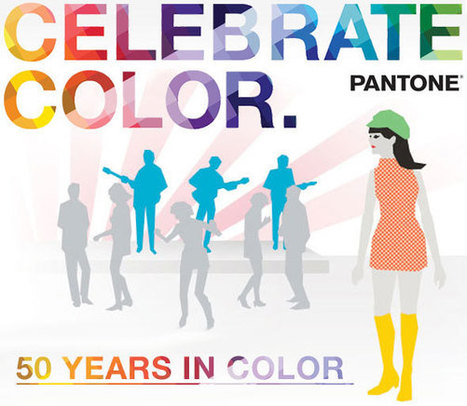 Anniversaire Pantone : 50 ans de couleurs Tendance   L'univers des usages numériques   Scoop.it