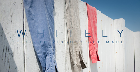 """FLY3 Spring Summer 2013: The whitened shirts """"On-the-sea-gone-through effect"""" 