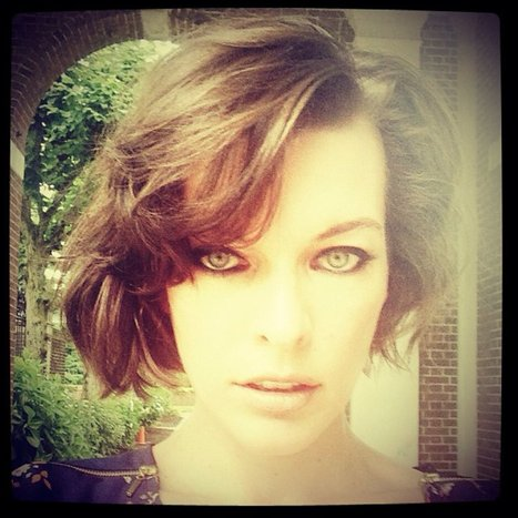 Milla Jovovich's New Hairstyle Is Short And Sexy - Huffington Post | Great Hair | Scoop.it