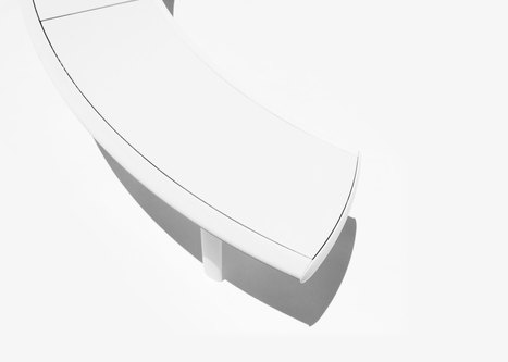 Aluminum Bench | Architecture, design & algorithms | Scoop.it