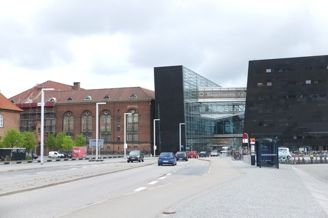 CPH : La bibliothèque royale, le diamant noir ou l'harmonie architecturale à la danoise - Ecribouille.net | Bibliothèques en évolution | Scoop.it