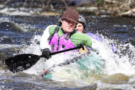 Paddlers finally challenge whitewater in St. George River Race - Courier-Gazette & Camden Herald | Whitewater Kayaking | Scoop.it