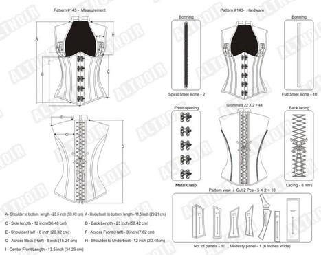 Gossamer steampunk underbust corset | Corsets | Scoop.it