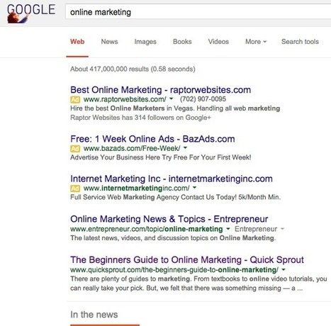 The Future of SEO: 5 Stats That Show Where Google is Heading | Online Marketing for the SMB | Scoop.it