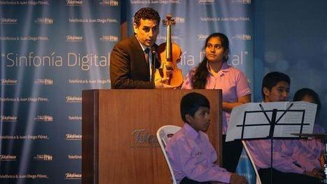 Flórez y Telefónica promoverán la educación musical de los niños con tecnología | Educació Musical | Scoop.it