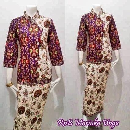 Baju Blus Batik Setelan Rok Seri Marinka - Batik Bagoes   Sarimbit Dress Batik Bagoes KODE : SD 2850   Scoop.it
