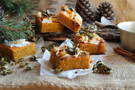Gâteau à la courge et aux épices {sans gluten}   Couture, cuisine jardinage   Scoop.it