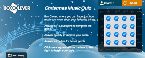 Christmas Music Quiz | Box Clever | QuizFortune | Quiz Related Biz - Social Quizzing and Gaming | Scoop.it